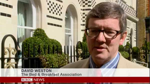 David Weston on BBC News Channel, March 2015