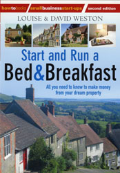 How to Start and Run a B&B, by Louise and David Weston